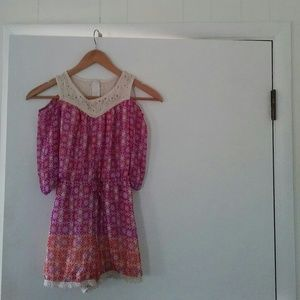 Girl's size large Speechless jumper dress and thre
